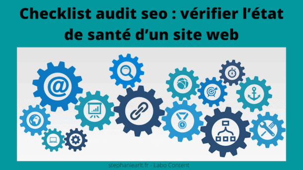 checklist audit seo