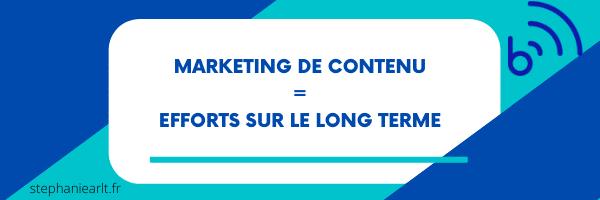 le marketing de contenu vaut la peine