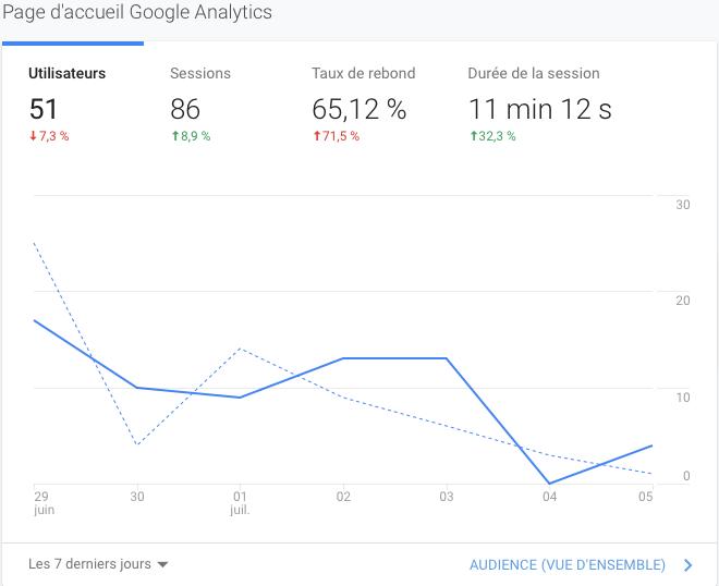 nombre utilisateur google analytics