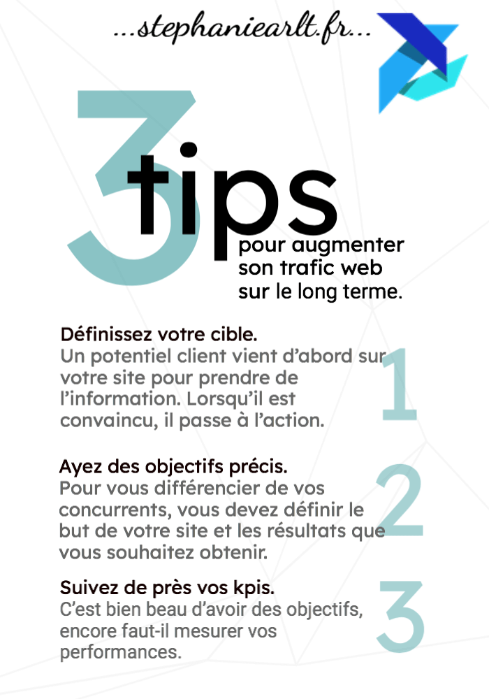 tips augmenter trafic web