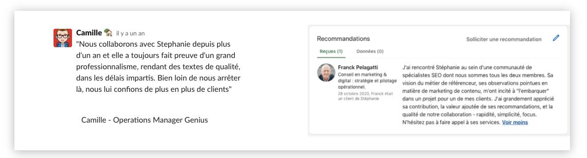 recommandations référencement web stéphanie arlt